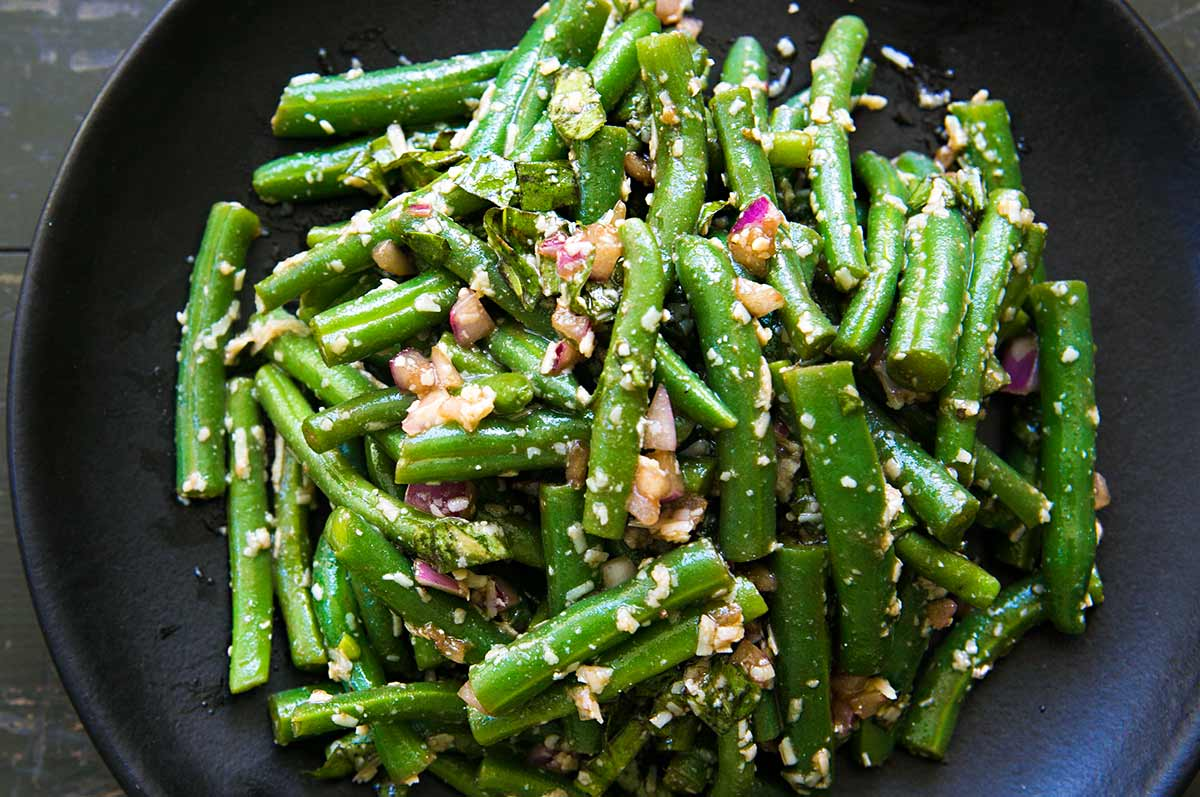 Quick Easy Creole Green Beans
