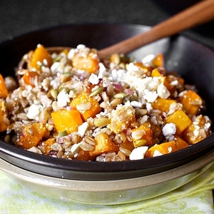 Butternut Squash Salad With Farro And Pepitas recipes