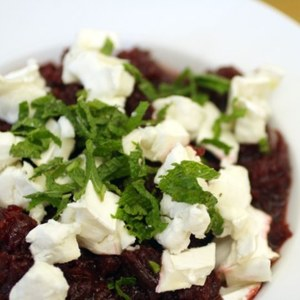 French in a Flash: Beet Salad with Goat Cheese Recipe