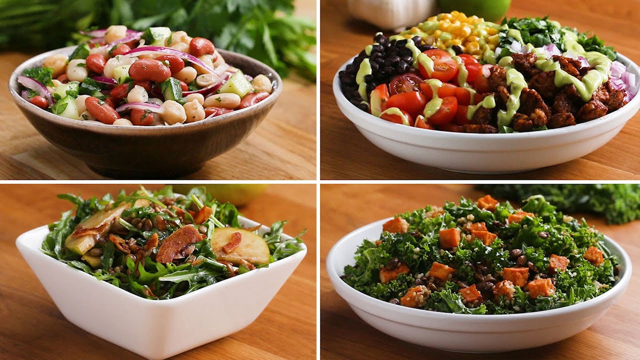 5 Protein-Packed Salads