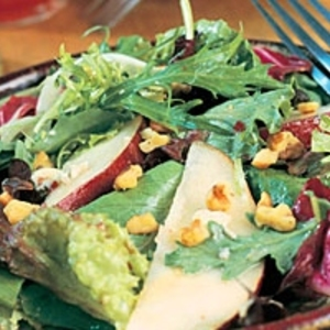 Field Salad with Pears and Blue Cheese recipes