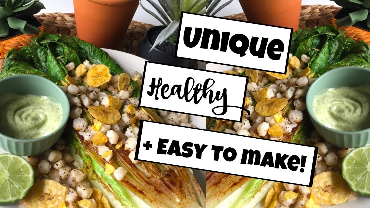 5 EPIC VEGAN SALAD RECIPES YOU NEED TO TRY! #1