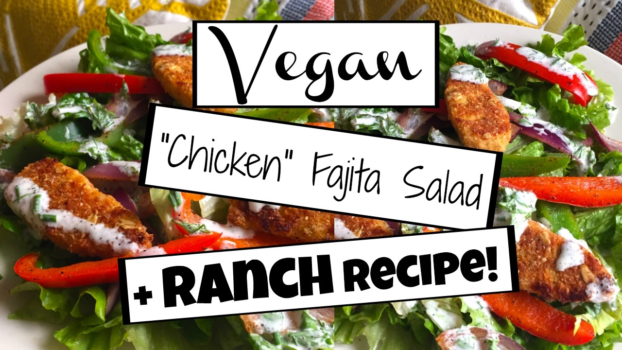 5 EPIC VEGAN SALAD RECIPES YOU NEED TO TRY! #3 | Vegan Ranch Dressing Recipe