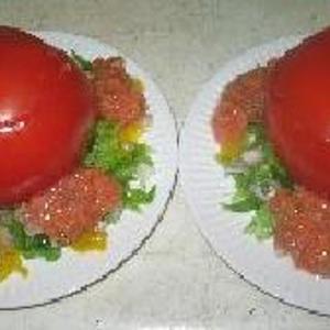 Heart Healthy Tomato Pepper Appetizer