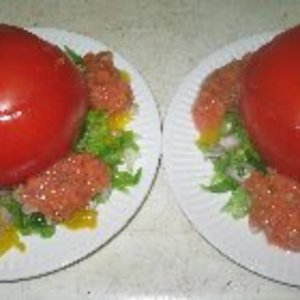 Elaines Heart-Healthy Tomato-Pepper Appetizer Recipe