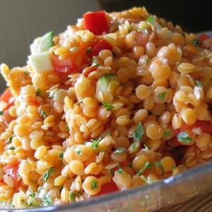 Red Lentil Salad