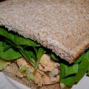Crunchy Wild Alaskan Salmon Salad