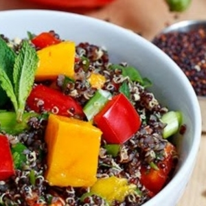 Thai Style Black Quinoa Salad recipes