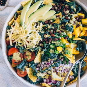 Vegetarian Kale Taco Salad recipes