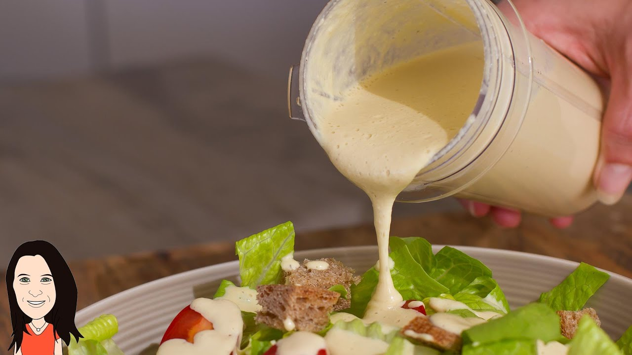 Best Caesar Salad Dressing Recipe Ever – You Won't Believe it's Vegan!
