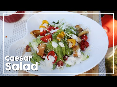 Caesar Salad | Quick And Healthy Salad Recipe