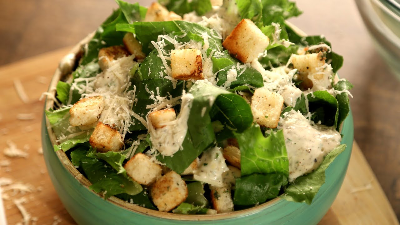 Caesar Salad Recipe | Homemade Caesar Salad | The Bombay Chef – Varun Inamdar