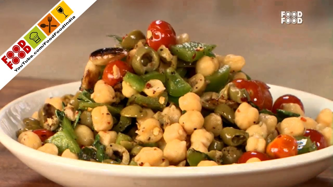 Chickpea Salad With Roasted Vegetables – Cook Smart