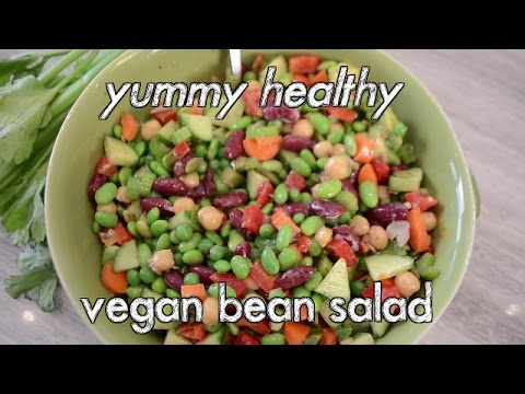 Easy Bean Vegan Salad Recipe