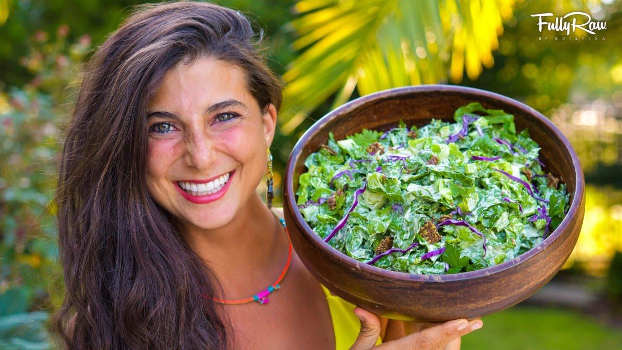 FullyRaw Caesar Salad!