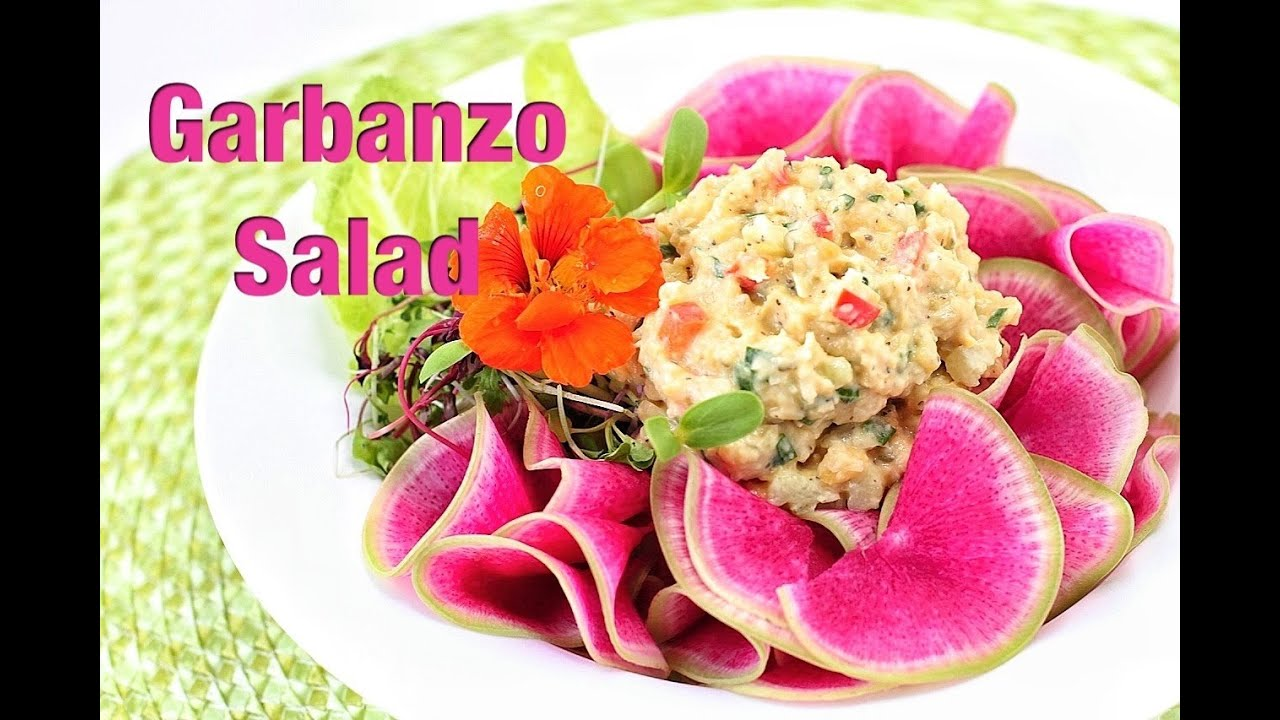 Garbanzo -better than tuna- Salad Recipe :: Vegan