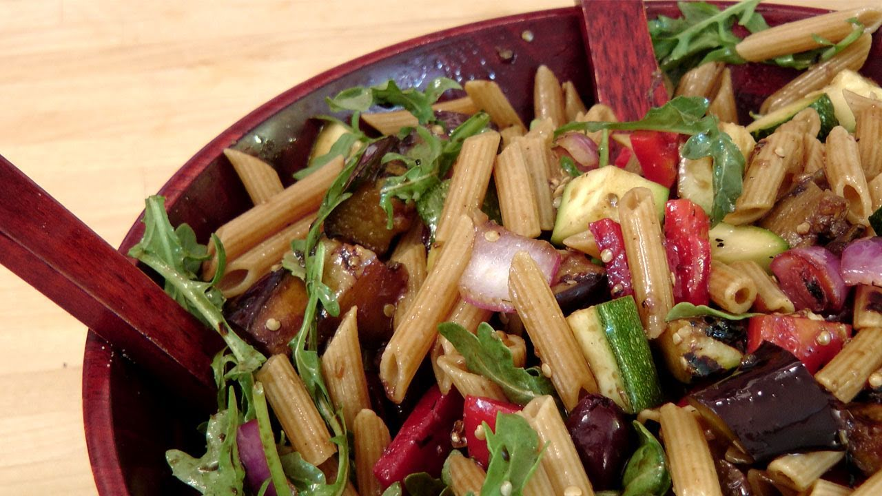 Grilled Veggie Pasta Salad – Recipe by Laura Vitale – Laura in the Kitchen Episode 130