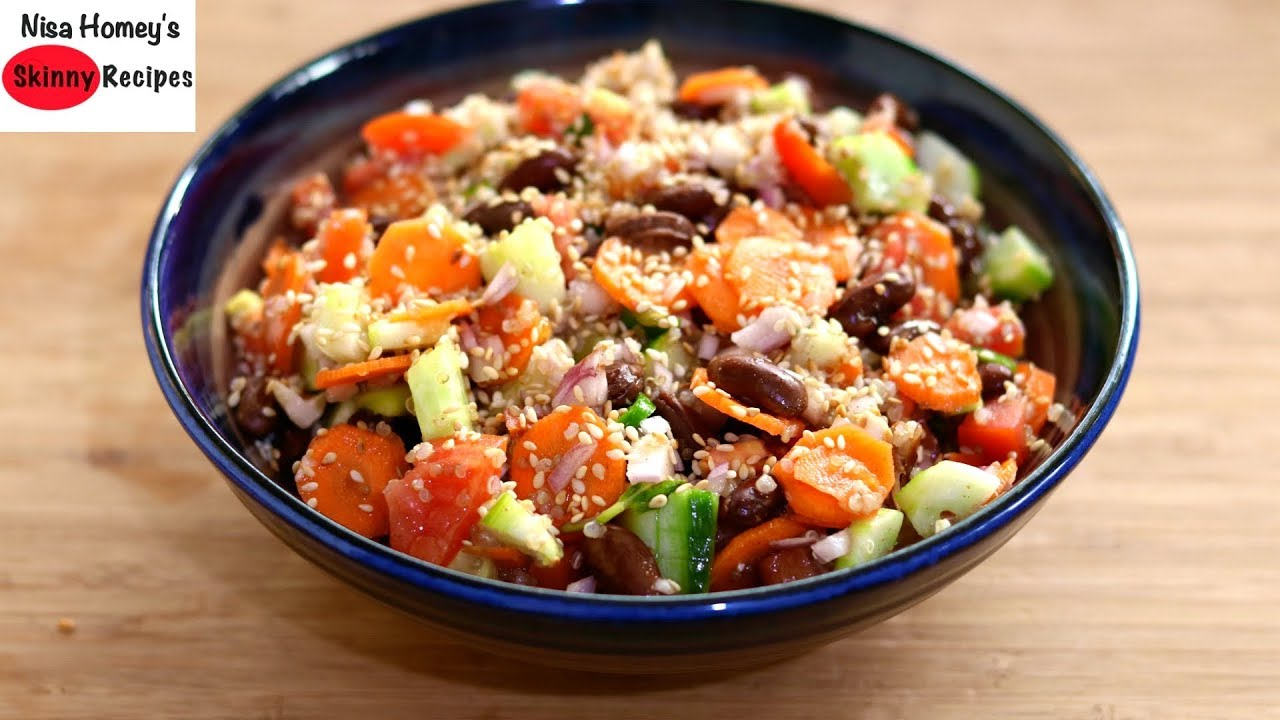 Healthy Quinoa Salad Recipe For Weight Loss – Dinner Recipes – Skinny Recipes To Lose Weight Fast