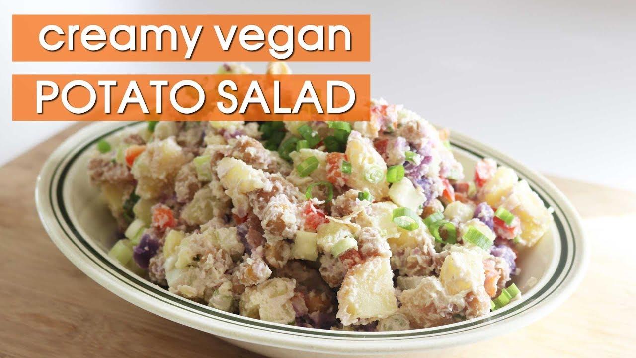 How to Make Creamy Vegan Potato Salad with Cashew Mayo