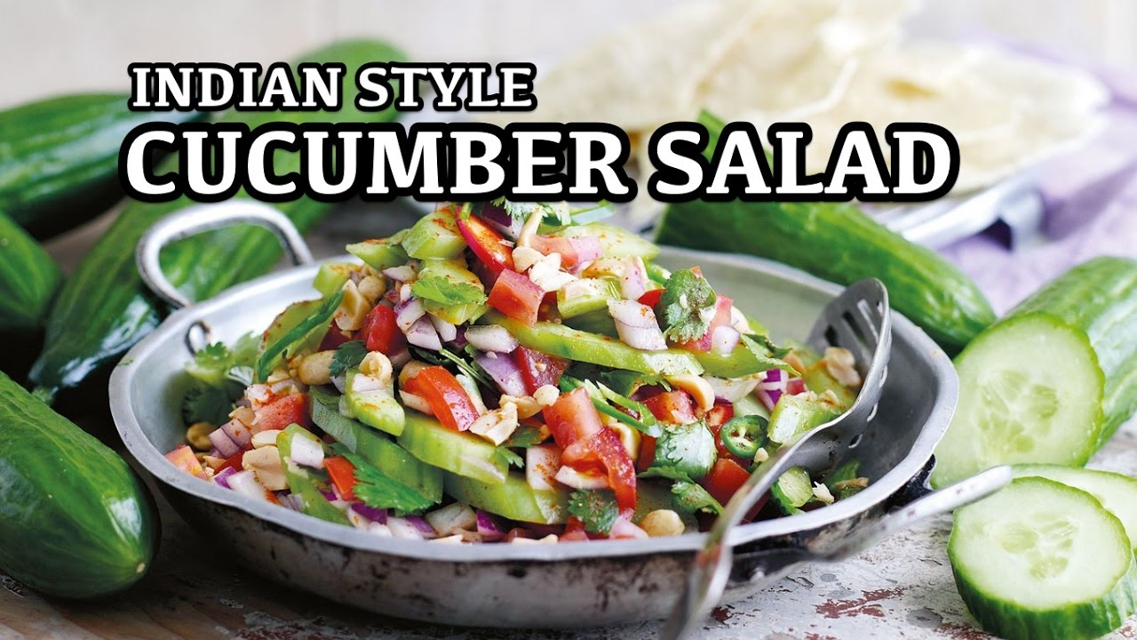 Indian Style Cucumber Salad Recipe