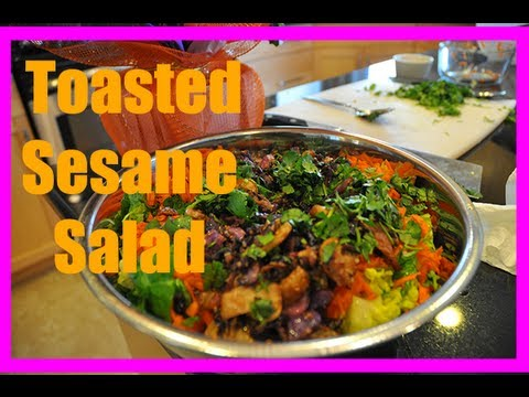 Low Fat Stir Fry Salad Recipe (vegan)