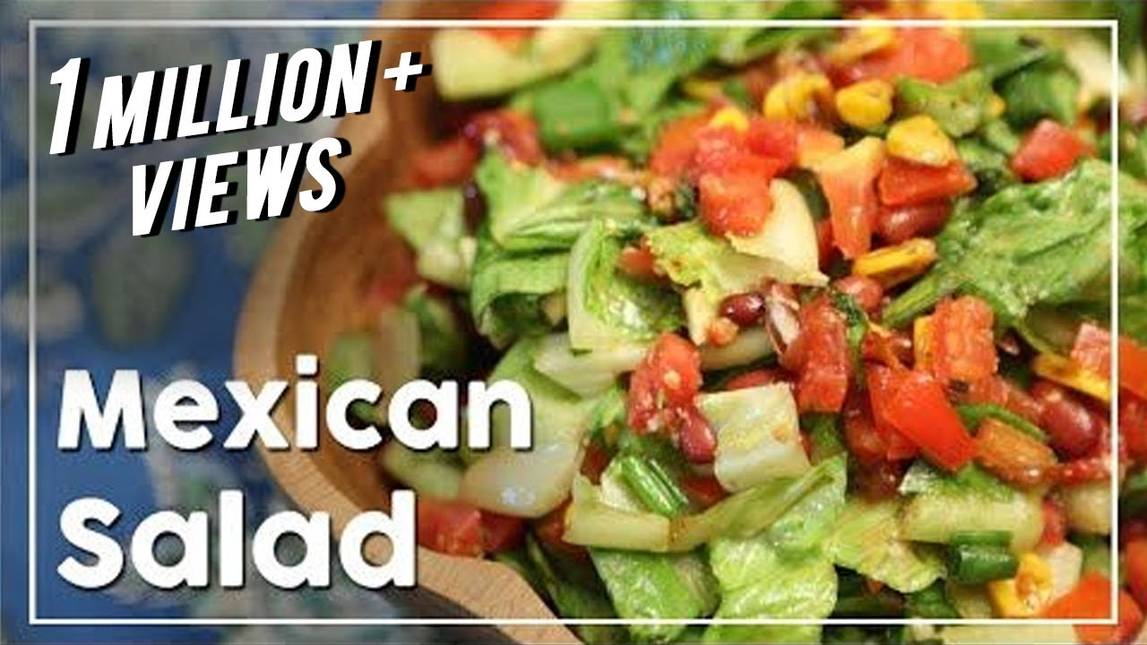 Mexican Salad – Healthy Salad Recipe – My Recipe Book With Tarika Singh