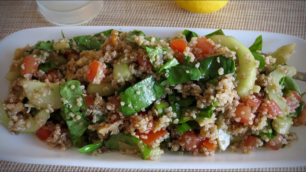 Quinoa Salad Recipe (Vegan) — The Frugal Chef