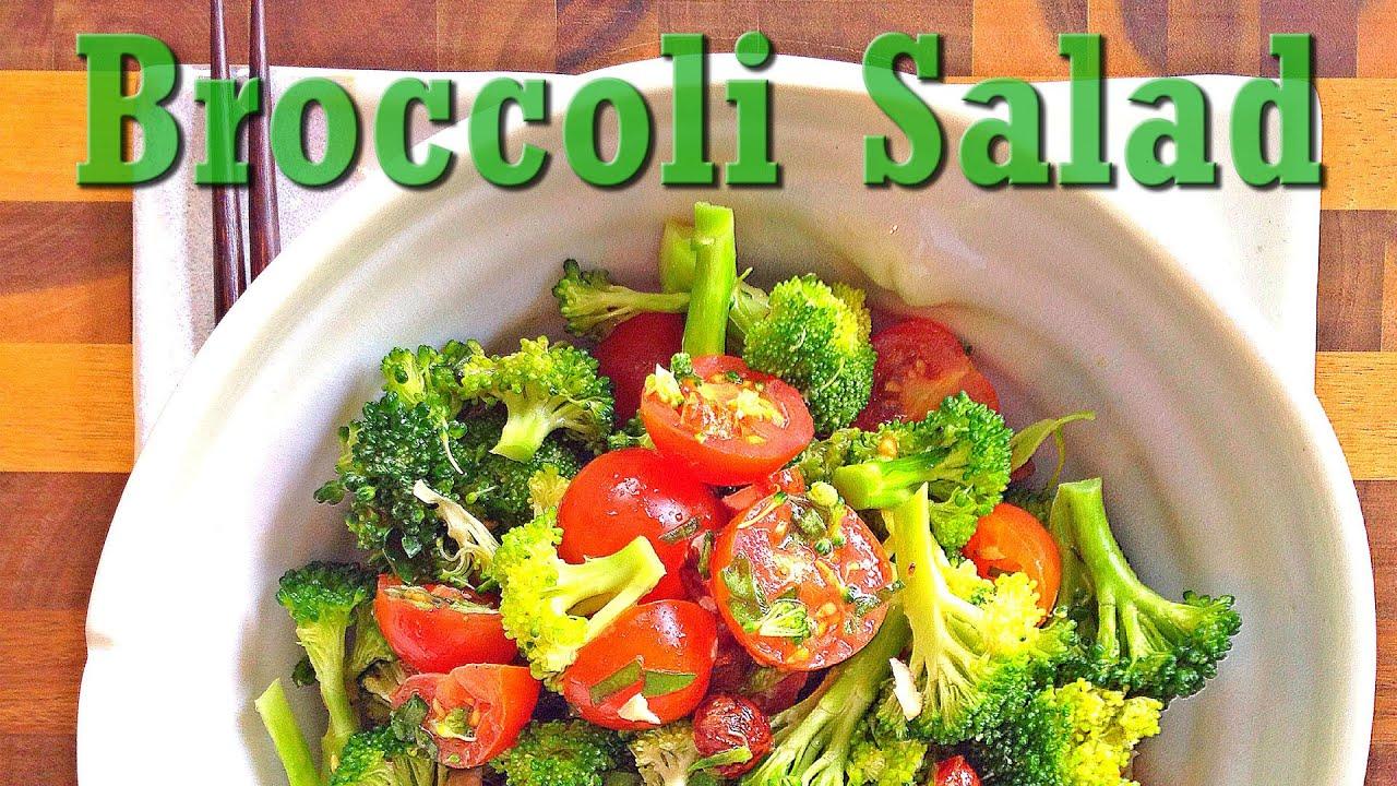 Raw Vegan Summer Recipe Fresh Broccoli Salad