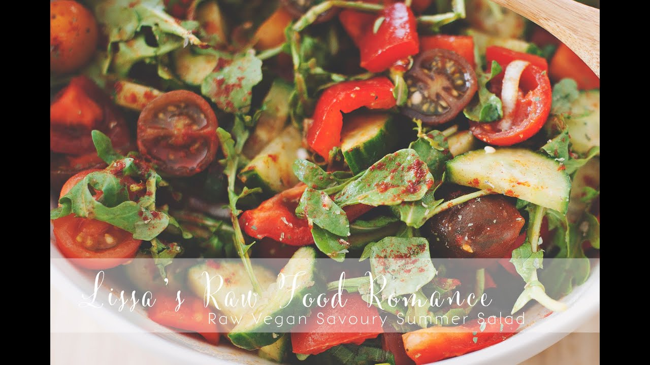 RECIPE: FRENCH DRESSING + Raw Vegan Fruiting Vegetable Salad