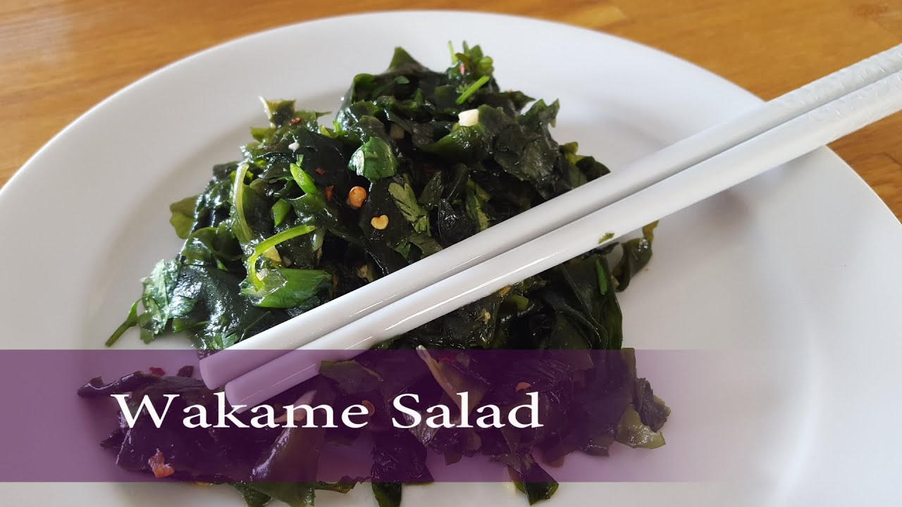 Seaweed Salad Recipe – Healthy Wakame Salad