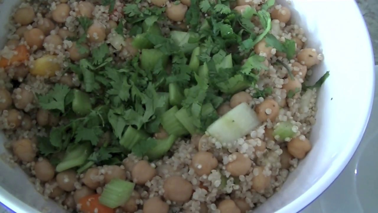 Summer Salad Recipe – Easy Protein Rich Vegetarian Salad
