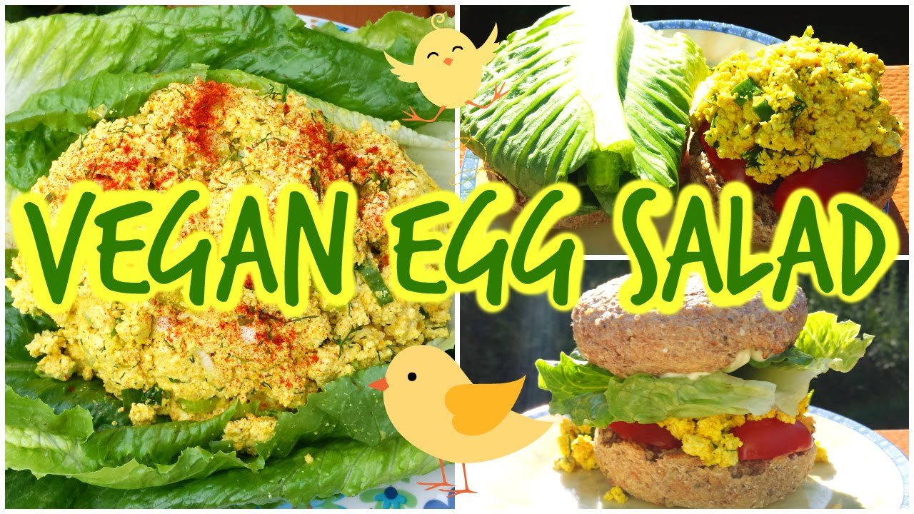 Tofu Salad/ Vegan Egg Salad Recipe