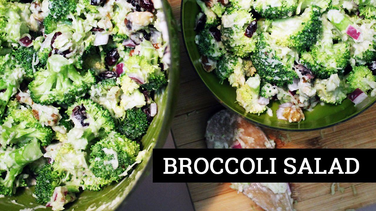 Vegan Broccoli Salad | Recipe by Mary's Test Kitchen