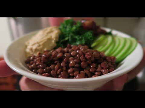 Vegan Moroccan Spiced Lentil Salad!
