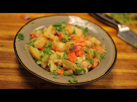Vegan Potato Salad – easy salad recipes – healthy salad recipes for weight loss – healthy living