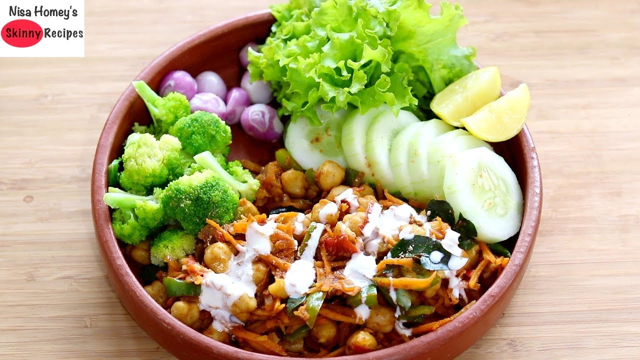 Weight Loss Salad Recipe For Dinner – Diet Plan To Lose Weight Fast – Indian Veg Meal Plan