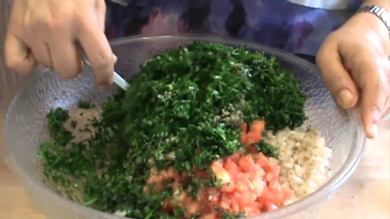 Authentic Tabbouleh Salad Recipe!! (tabouli, tabouleh)