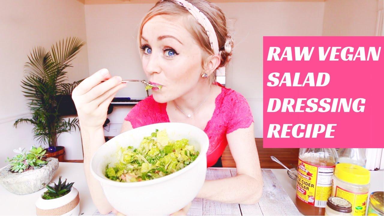 BEST RAW VEGAN SALAD DRESSING EVER || RECIPE