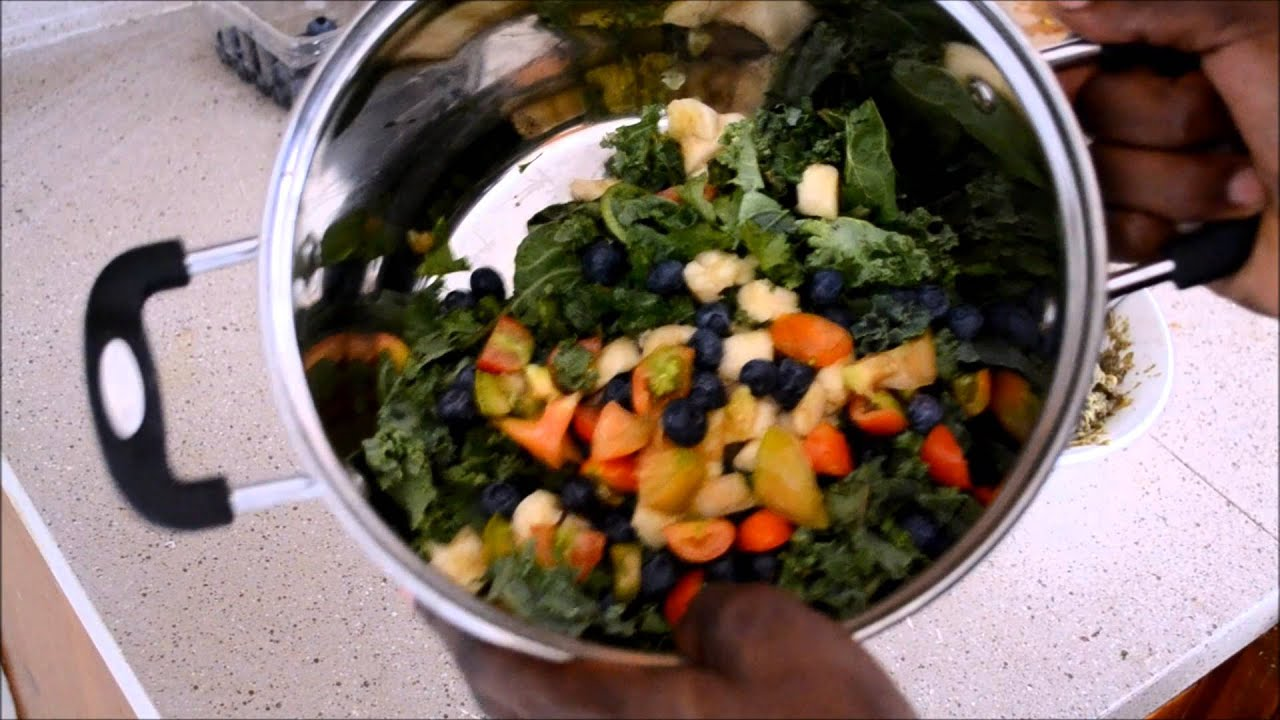 ::How To Create Raw Vegan Salad::