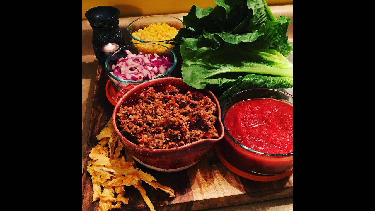 Raw Vegan Taco Salad …..OMG MUST TRY !!!!!!!!!