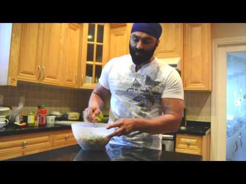 Sexy Salad – High Protein Vegetarian Salad (110g Protein)
