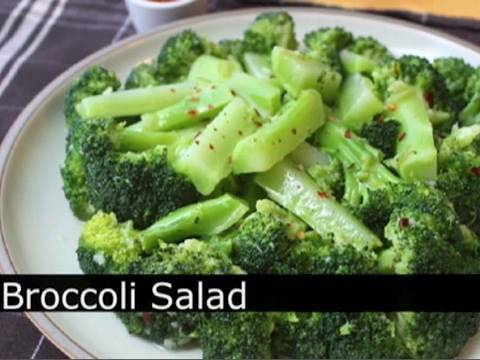 The Best Broccoli Salad – Garlic Lemon Chili Broccoli Salad Recipe : Foodwishes