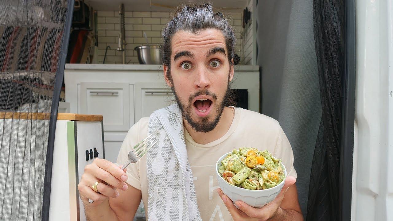 ULTIMATE PESTO PASTA SALAD | easy vegan recipe