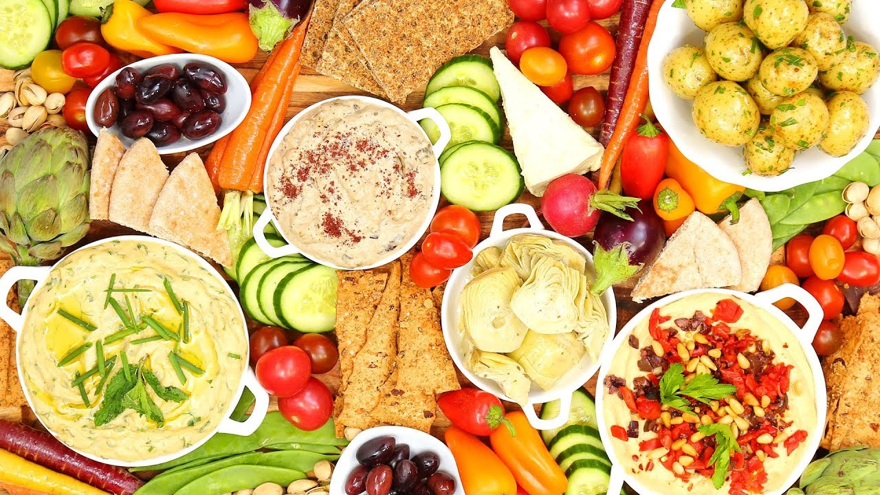 Vegan Platter | Holiday Entertaining