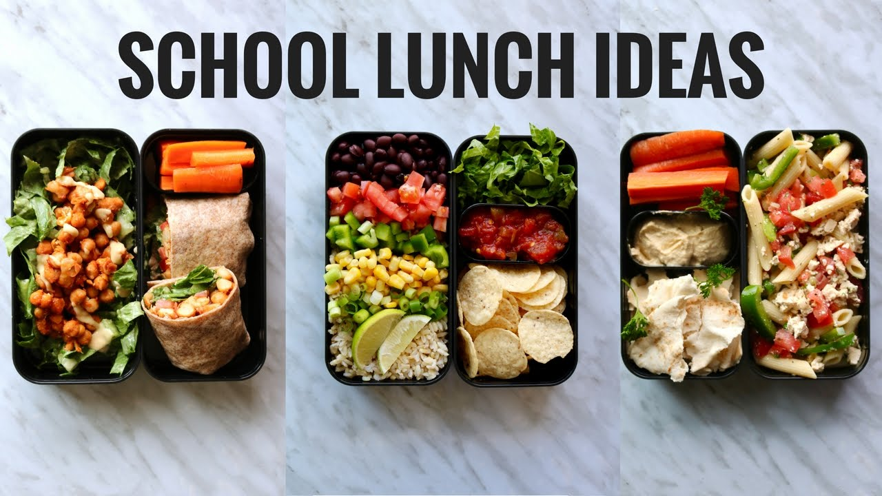 VEGAN SCHOOL LUNCH IDEAS (BENTO BOX)