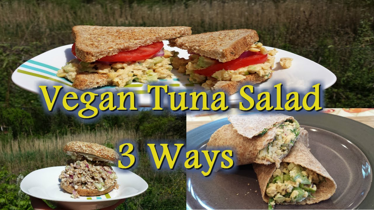 VEGAN TUNA SALAD – 3 WAYS!