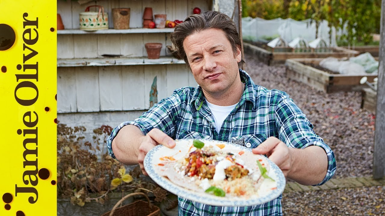 Charred Veg Salad Jamie Oliver Easy Salad Recipes