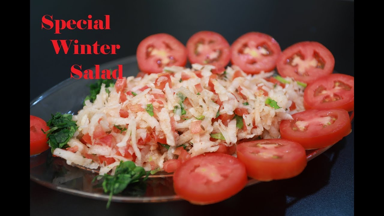 Delicious and Healthy Mooli Tamatar Kachumer | 2-Minute Instant Special Salad for Winters |