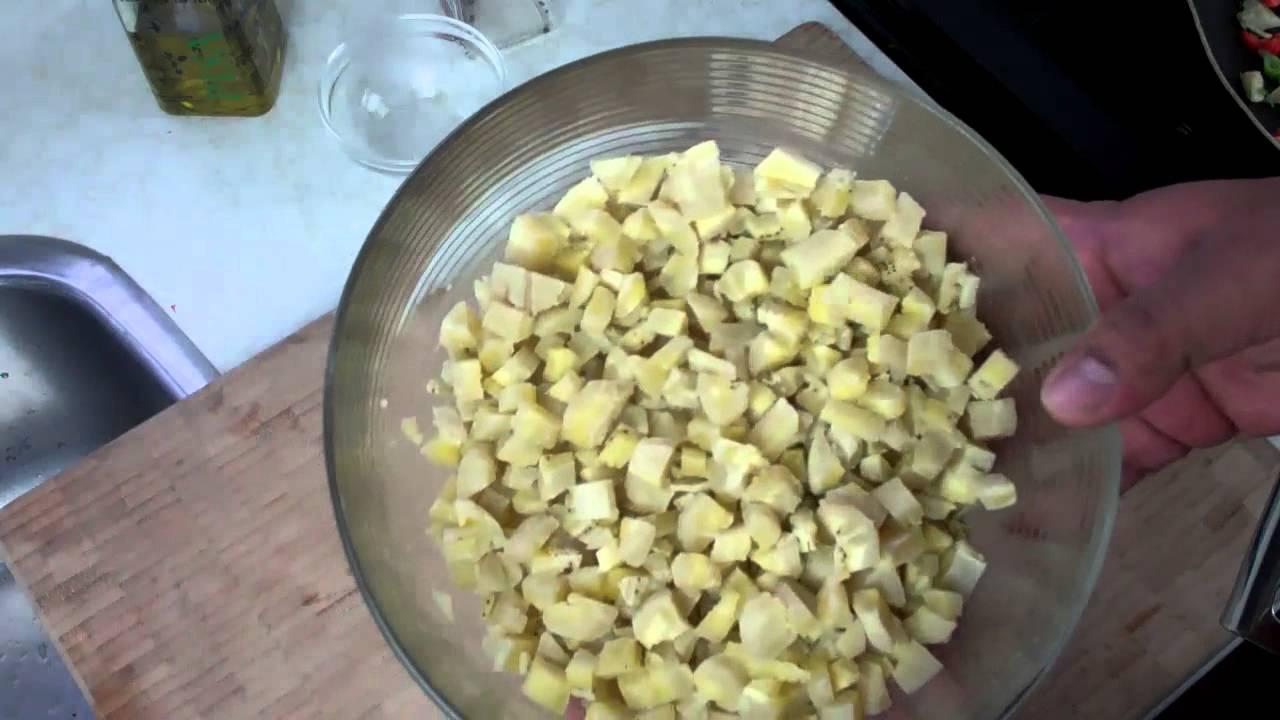 Green Fig Salad Recipe (green banana) – Chris De La Rosa