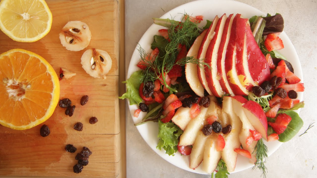 Poached Pear Salad Recipe 6 of #10000Salads